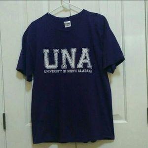 University of North Alabama UNA T-shirt Large